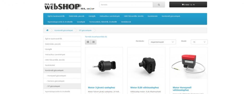webshop_frontpage